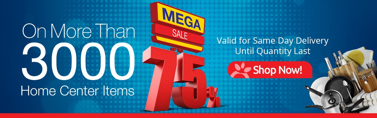 Mega Sale up to 75% | Sultan-Center.com, Kuwait's Best Online Grocery Shopping | سلطان اونلاين توصيل طلبات في الكويت