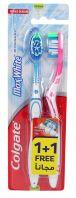 Colgate Max White Medium Toothbrush 1 + 1Free |sultan-center.comمركز سلطان اونلاين