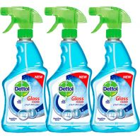 Dettol Sparkling Shine Glass Cleaner 2+1 Free