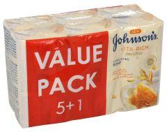 Johnsons Vitarich Soap With Yogurt Hony And Oats