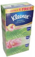Kleenex Natural Collection Hand And Facial Tissue