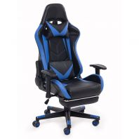 Multi Function Blue Gaming Chair