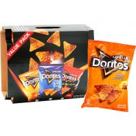 Doritos Assorted Chips Triple Pack