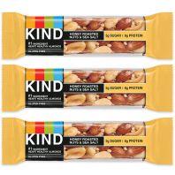 Be Kind Honey Roasted Nuts & Sea Salt Nut Bar