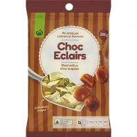 Woolworths Chocolate Eclairs