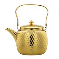 Dotted Stainless Steel Kettle