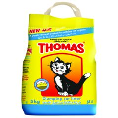 Thomas Clumping Cat Litter  5Kg |?sultan-center.com????? ????? ???????