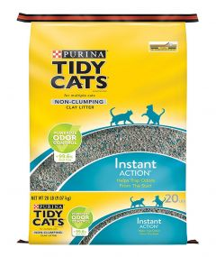 Purina Tidy Cats Odor Control Non-Clumping  Clay Litter 9.07kg |?sultan-center.com????? ????? ???????