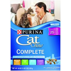 Purina Complete Cat Chow Food