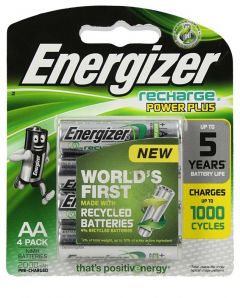 Energizer Rechargeable Power Plus AA Batteries