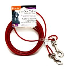 Hartz Tie-Out Cable 20Ft X 1Pc |?sultan-center.com????? ????? ???????