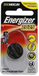 Energizer Zero Mercury 2025 3V Lithium Battery