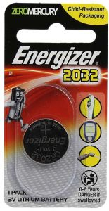 Energizer Zero Mercury 2032 3V Lithium Battery