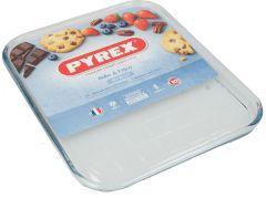 Pyrex Bake & Enjoy Rectangular Glass Baking Sheet