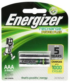 Energizer Charger Recharge Power Plus AAA Batteries