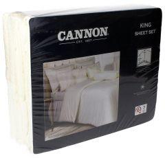 Cannon King Cream Sheet Set