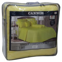 Cannon Twin Size Stripe Comforter Set