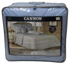 Cannon King Size Stripe Comforter Set