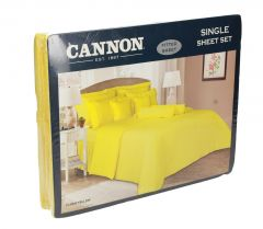 Cannon Twin Size Fitted Sheet Set