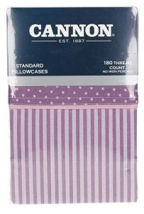 Cannon Standard Stripe Pillow Cases