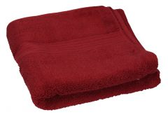 Cannon Royale burgandy Face Towel  50x100cm |?sultan-center.com????? ????? ???????