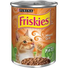 Purina Friskies Classic Pate Mixed Grill