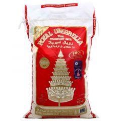 Royal Umbrella Thai Fragrant Rice 10Kg |sultan-center.comمركز سلطان اونلاين