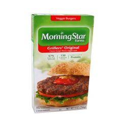 Morning Star Farms Grillers original Veggie Burgers 4Pcs
