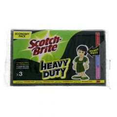 Scotch Brite Heavy Duty Scouring Pads 3Pcs |?sultan-center.com????? ????? ???????
