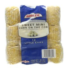 Birds Eye Sweet Mini Corn In The Cob  12Pcs |?sultan-center.com????? ????? ???????
