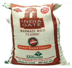 India Gate Basmati Classic Rice 20Kg |?sultan-center.com????? ????? ???????