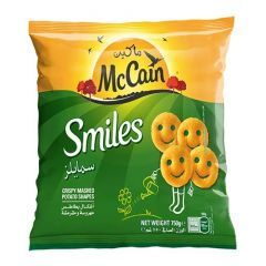 McCain Smiles Crispy Mashed Potato Shapes Fries Potatoes