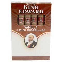 King Edward Vanilla Mini Cigarillos