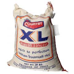 Country Xl Indian Basmati Rice  20kg |sultan-center.comمركز سلطان اونلاين