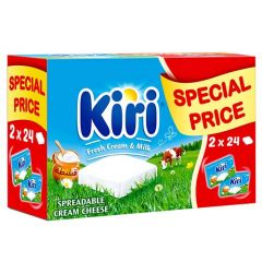 Kiri Spreadable creamy Cheese  432G X  2Pcs |?sultan-center.com????? ????? ???????