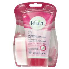 Veet In Shower Normal Skin Hair Removal Cream  150Ml |?sultan-center.com????? ????? ???????