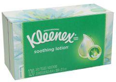Kleenex With Aloe & Vitamin E Lotion Tissue Box