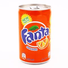 Fanta Orange Soft Drink Can 150Ml |?sultan-center.com????? ????? ???????