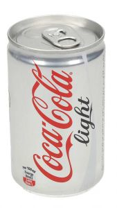 Coca Cola Light Soft Drink Can