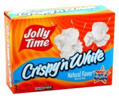 Jolly Time Gluten-Free Crispy 'N White Flavor Microwave Popcorn 3Pcs |?sultan-center.com????? ????? ???????