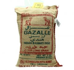 Gazelle Indian Basmati Rice 5Kg |?sultan-center.com????? ????? ???????