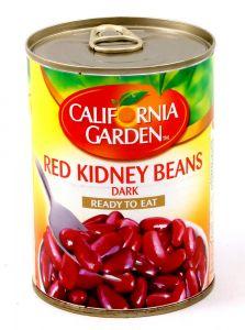 California Garden Red Kidney Beans Dark Ready To Eat 400G  sultan-center.comمركز سلطان اونلاين
