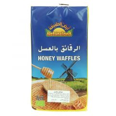 Natureland Organic Honey Waffles 175G |?sultan-center.com????? ????? ???????