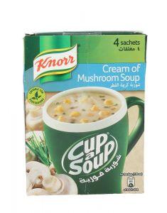 Knorr Cup A Soup Cream Of Mushroom  80g |?sultan-center.com????? ????? ???????