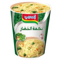 Indomie Vegetable Flavoured Instant Cup Noodles 60G |sultan-center.comمركز سلطان اونلاين
