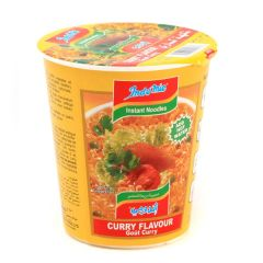 Indomie Curry Flavoured Instant Cup Noodles 60G |?sultan-center.com????? ????? ???????