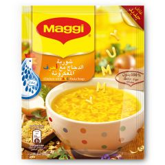 Maggi Chicken With ABC Pasta Soup