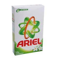 Ariel Green Concentrated Laundry Detergent Powder 1.5Kg |?sultan-center.com????? ????? ???????