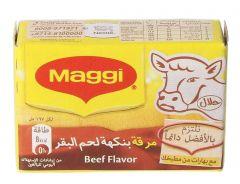 Maagi Beef Cubes Stock  22g |?sultan-center.com????? ????? ???????
