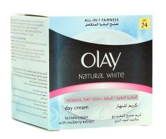 Olay Natural White Day Cream For Normal And Dry Skin  100G |?sultan-center.com????? ????? ???????